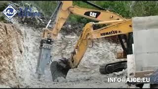 AJCE EUROPE AB810M (2000kg) Hydraulic Rockbreaker Hammer In Croatia