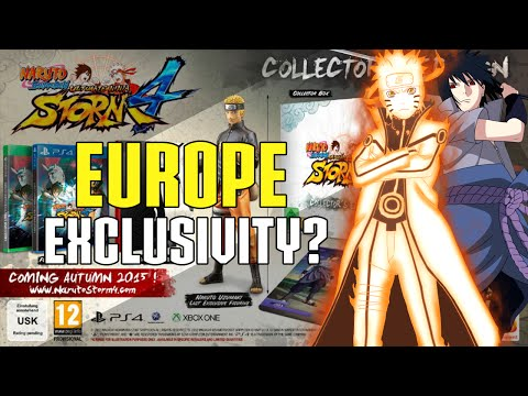 NARUTO STORM 4 - COLLECTOR'S Edition Europe Exclusive?