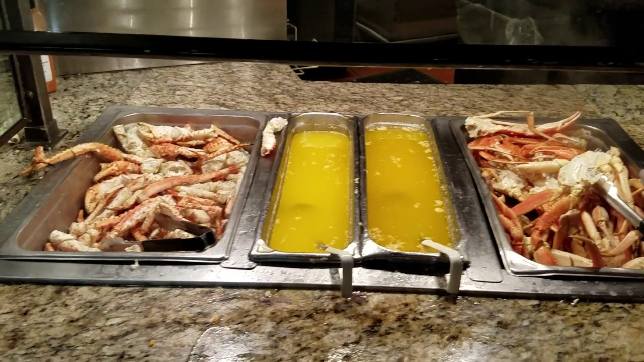Crab Buffet Eat To Your Crab S Content: SNOW KING CRAB OYSTERS Eat All You Can Seafood BUFFET L