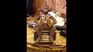 Monkey music box