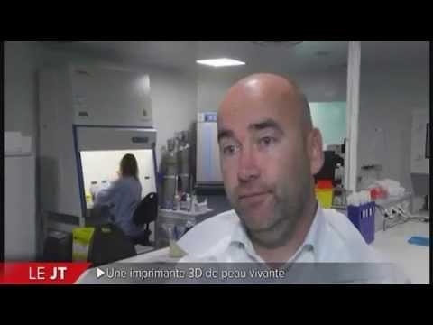 Poietis, l'imprimante 3D de peau vivante unique en France