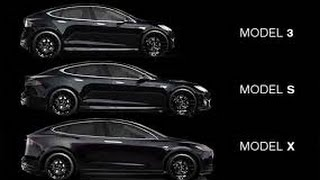 Tesla motors Model X, S, 3  putting car on diet better distance and performance