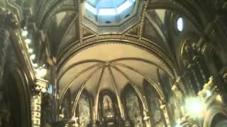 Прославление Господа в монастыре Монтсеррат 1(Через несколько минут как началось прославление, к нам с женой сзади подсела женщина или ангел, который..., 2013-11-27T13:18:44.000Z)