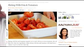 Shrimp With Roasted Tomatoes And Feta