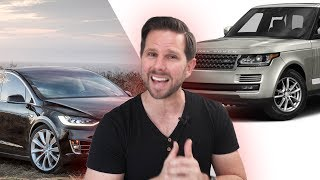 Tesla Model X vs Range Rover - Which is the Better Value?