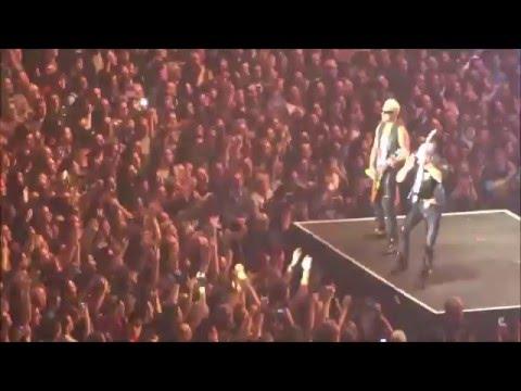 Europe - Scorpions - Grenoble Palais des Sports - dimanche 6 décembre 2015