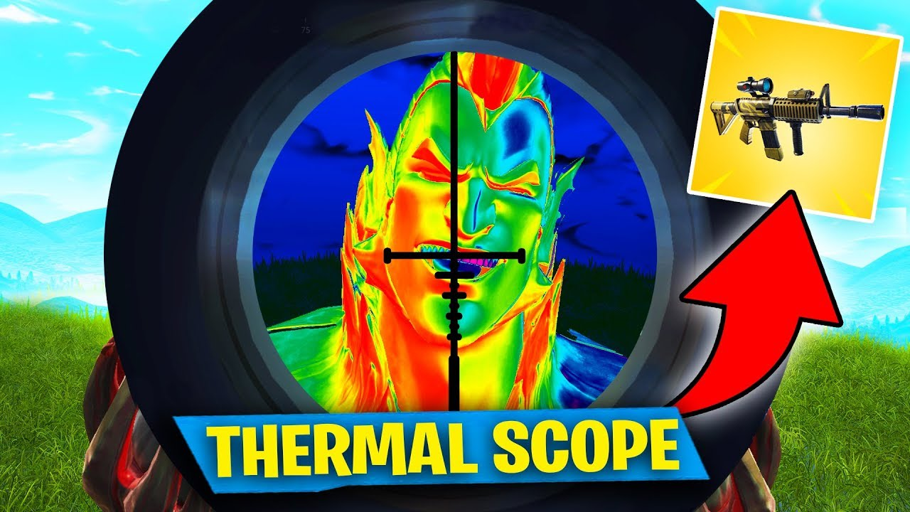 IN SEARCH OF THE THERMAL SCOPE AR!! Fortnite: Battle Royale