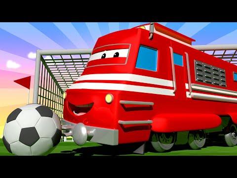 Troy o Trem - Especial FIFA - Charlie o guindaste - Cidade do Trem 🚄 Desenhos animados