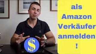 als Amazon professioneller Verkäufer anmelden, im Amazon Seller Central Verkäuferkonto erstellen