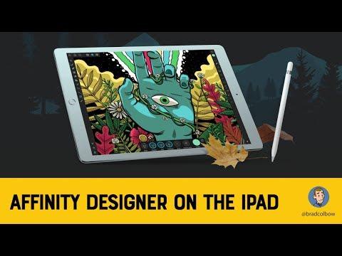 Affinity Designer for the iPad Impressions