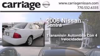 Usado 2006 Nissan Sentra Para La Venta en Gainsville GA