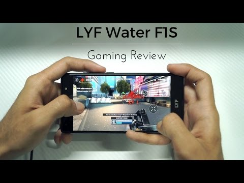 LYF Water F1S Gaming Review and Overheating Test! - YouTube