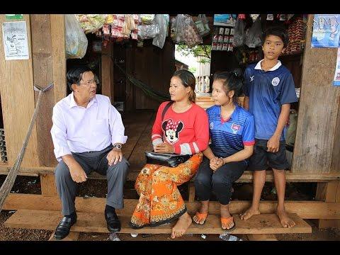 14 SEP 2016 Samdech Techo Hun Sen Visit Tbong Khmom and Mondol KIRI