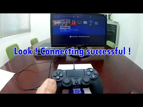 【Brook P4 MARINE】How to connect PS4 with MARINE ?