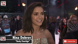 Nina Dobrev loved being in London for the xXx: Return of Xander Cage UK Premiere