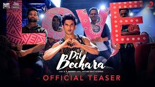 Dil Bechara (Title Track) - Official Teaser | Sushant Singh Rajput | Sanjana Sanghi | A.R. Rahman