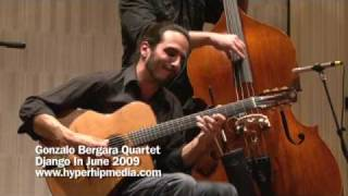 Some of These Days - Gonzalo Bergara Quartet - Django in June 2009