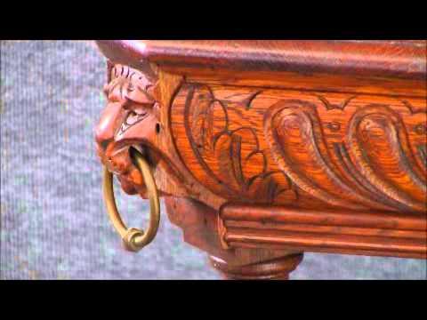 14-101  Antique Renaissance Table