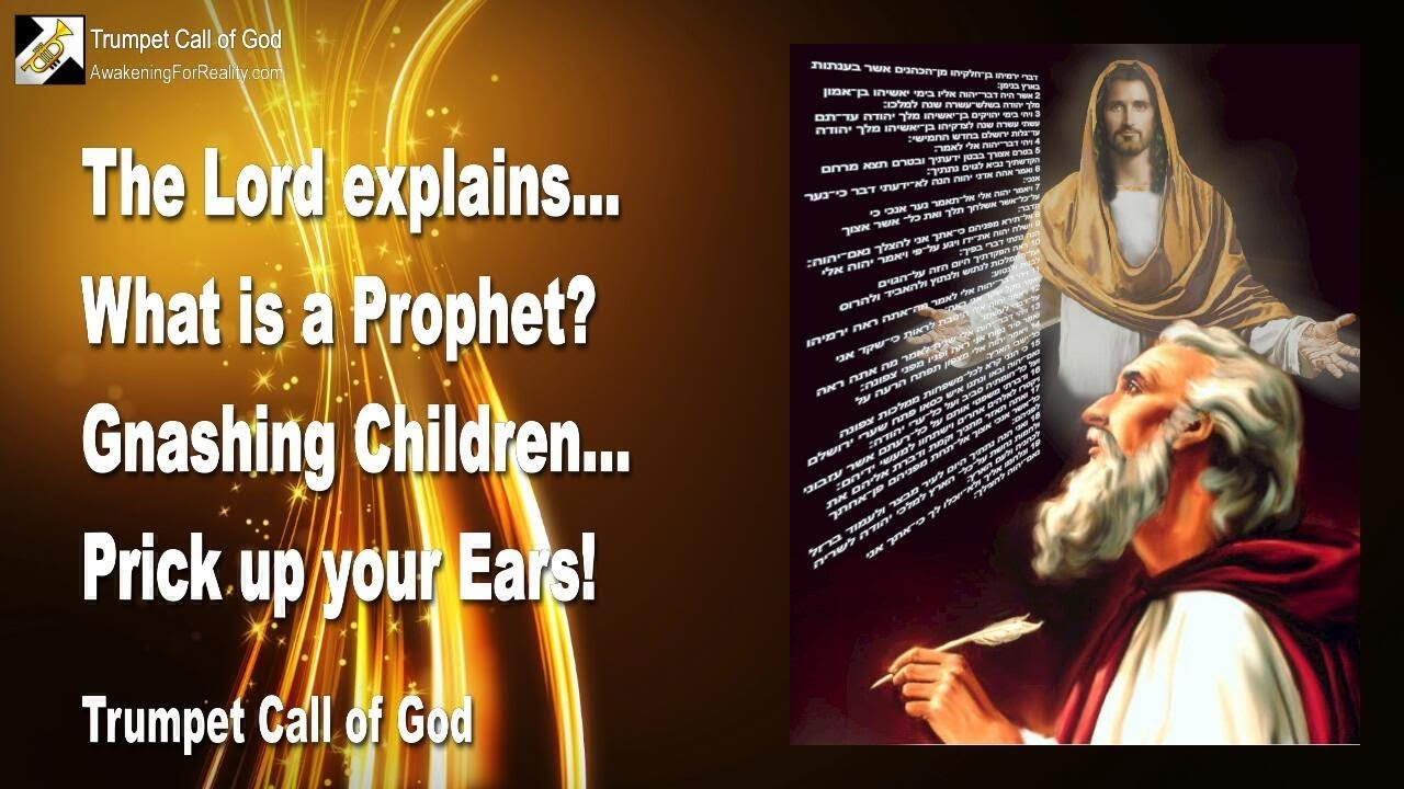 what is the work of a prophet of god