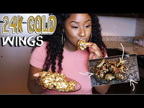 HOW TO MAKE 24K GOLD WINGS!