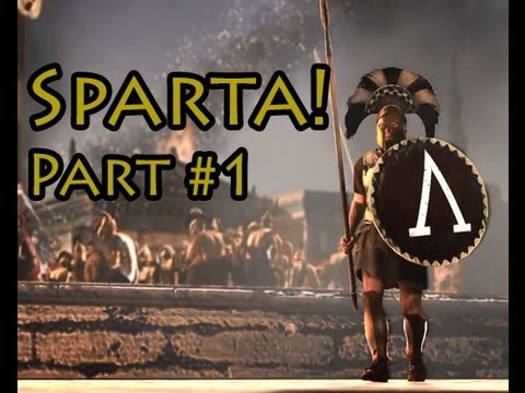 Total War: Rome 2 Sparta Campaign with Commentary- Part 1