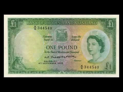 All Rhodesia And Nyasaland Pound Banknotes - 1956 To 1961 In HD