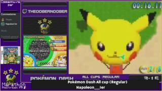 Pokémon Speedruns Marathon #2 : Pokémon Dash