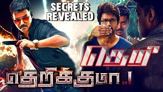 theri secrets revealed ilayathalpathy vijay samantha by atlee