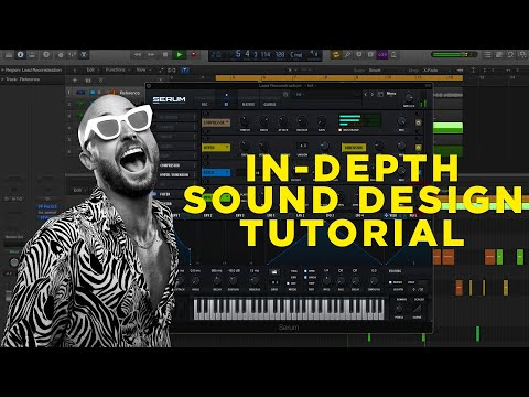 "FISHER - ""You Little Beauty"" Tech House Serum Sound Design Tutorial (Free Presets) thumbnail"