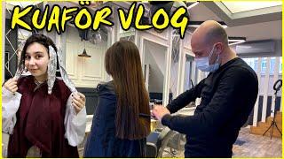 KUAFÖR VLOG !! 2 Günlük Vlog   Esila Biltekin