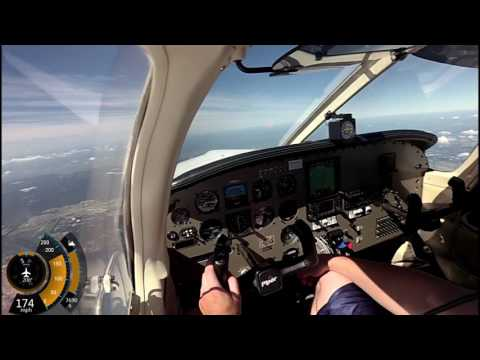 Flight to KFFA (First Flight Airport) from KPNE w/ ATC | PA-32R-301 Piper Saratoga