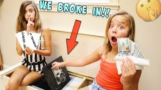 WE BROKE INTO OUR DAD'S SECRET BOX