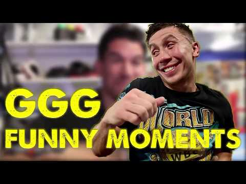 GENNADY GOLOVKIN FUNNY MOMENTS IN HIS CAREER