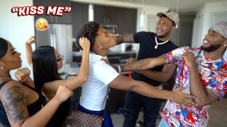 """I Like Guys"" PRANK | Ft. Ar'mon & Trey *got kicked out*"
