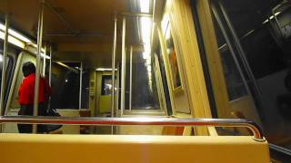 WMATA MetroRail: ROHR 1974-78 Car #1186 On the Yellow Line!