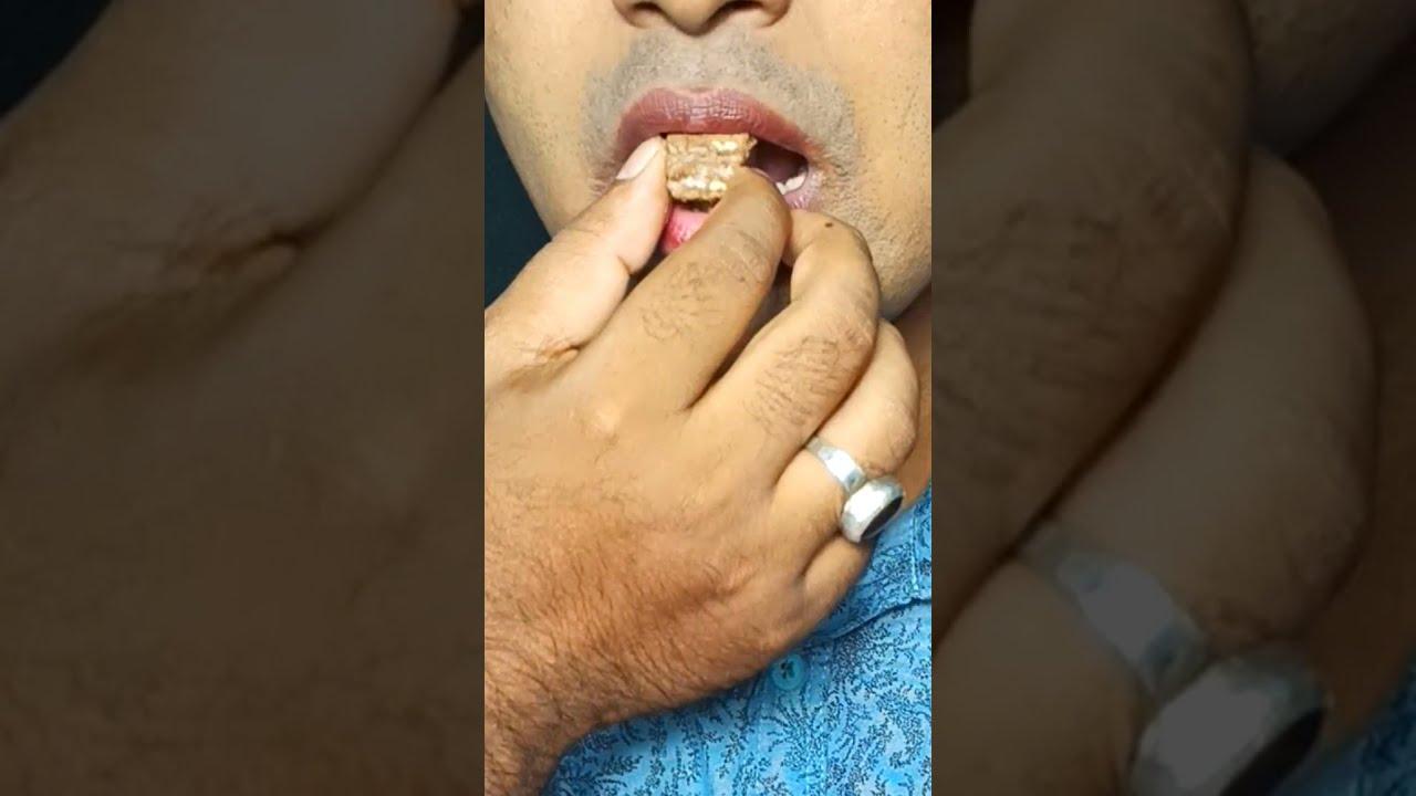 asmr eating satisfying video #shorts @closer food