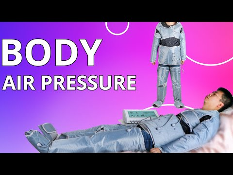 Air Wave Pressure Far Infrared Heat Pressotherapy Body Slimming | MYCHWAY Video JMLB1219
