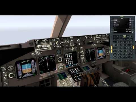 X FMC v2 flight