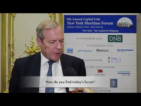 2017 9th Annual New York Maritime Forum - Mr. Michael Parker Interview