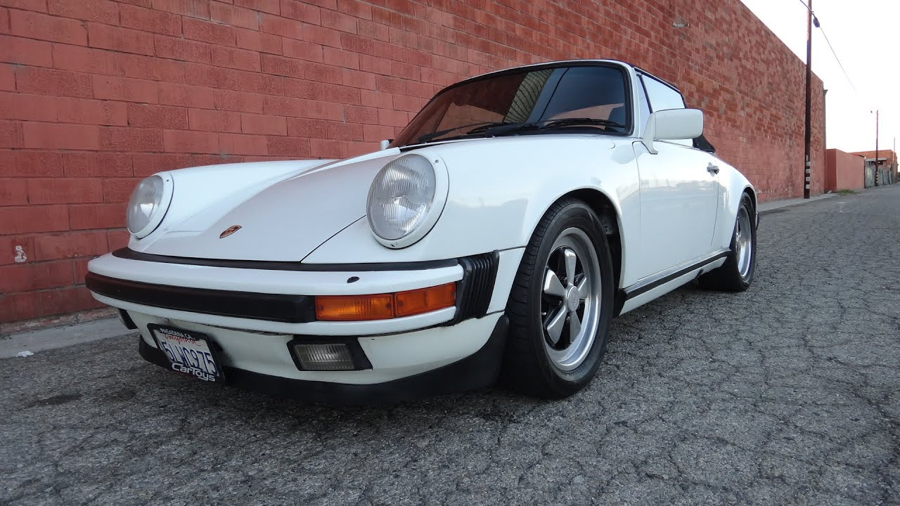 1980 white porsche 911 cabriolet youtube. Black Bedroom Furniture Sets. Home Design Ideas
