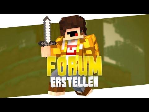 Forum erstellen - Teil 1