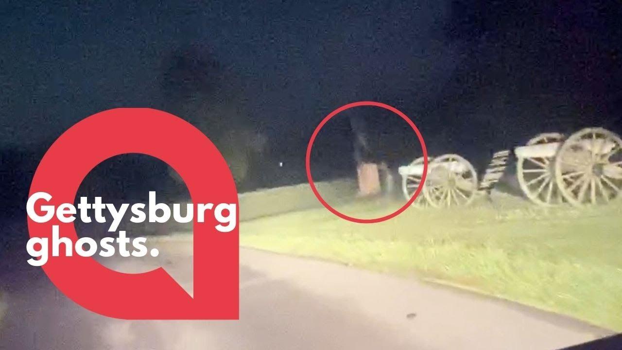 """Dos """"fantasmas"""" capturados por la cámara en Gettysburg"""