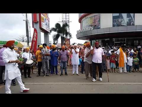 Nagar kirtan sahib Santiago city Philippine 2016