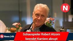 Nie wieder TV: Schauspieler Robert Atzorn beendet Karriere abrupt - News 24h