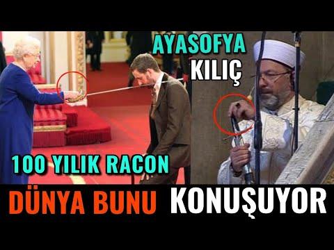 Ayasofya'nın açılışında Ali Erbaş'ın sol elinde tuttuğu kılıcı  doğru anlamak, iyi okumak lazım.