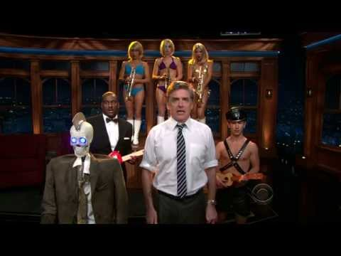 Late Late Show with Craig Ferguson 4/5/2010 Kristen Bell, Grant Imahara (Geoff Peterson's debut)