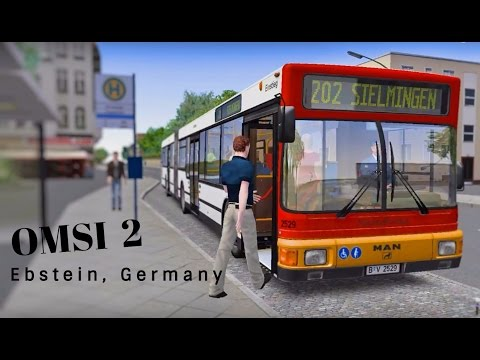 Let's TEST! OMSI 2 - Ebstein, Germany Bus Ride - Route 202 (HD Quality)