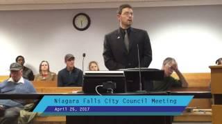 April 25, 2017 City Council Meeting