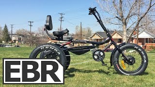 Trivel E-Fat Azteca Video Review - $3.9k Electric Recumbent Fat Trike
