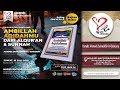 [LIVE] Ambillah Aqidahmu Dari Al Quran Dan As Sunnah - Ustadz Ahmad Zainuddin Al Banjary